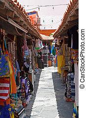 Mexican Bazaar - Outdoor mexican marketplace or mercado in...