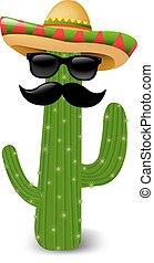 Mexican Cactus Sunglasses