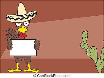 mexican chicken background5 - mexican chicken mariachi...