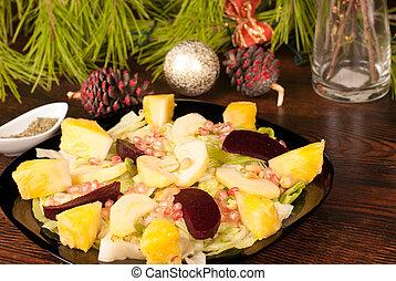 Mexican Christmas salad