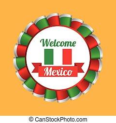 mexican culture design - mexican culture design, vector...