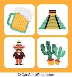 mexican culture design, vector illustration eps10 graphic