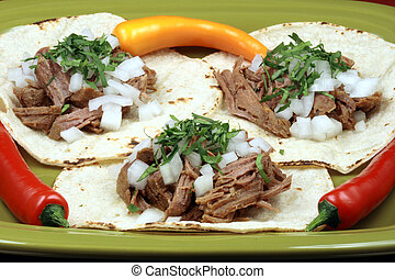 mexican fiesta meat tacos - Delicious mexican tacos perfect...