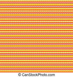 Mexican geometric striped pattern