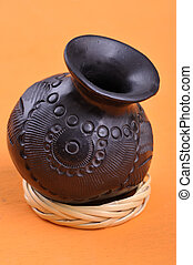 Mexican handicraft bowl from Oaxaca - Typical Mexican...