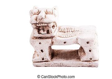 Mexican jaguar throne