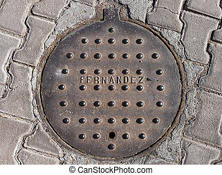 Mexican Manhole Cover