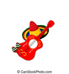 Mexican Music Stock Illustration Images 2909