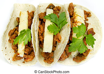 Mexican Pastor Style Tacos