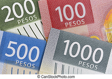Mexican Peso a new series of banknotes