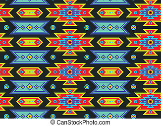 Mexican Psychedelic Pattern