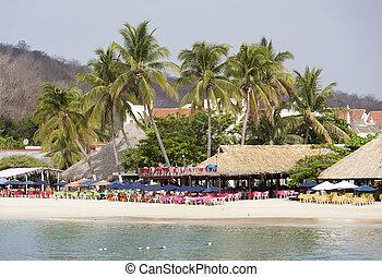 Mexican Resort Town Beach