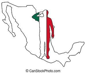 Mexican salute