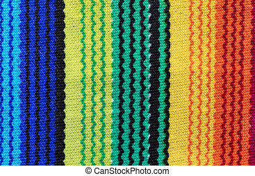 Mexican serape for Cinco de Mayo holiday background