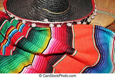 Mexican sombrero fiesta