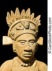 Mexican statue of a noble man