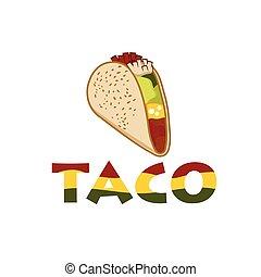 Mexican Taco illustration