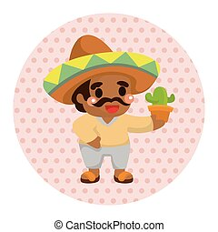 Mexican theme elements