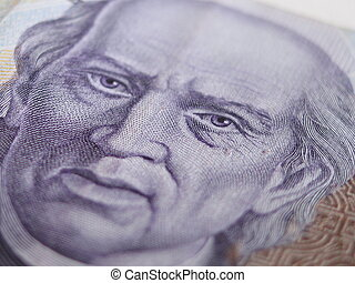 Mexican Thousand peso closeup