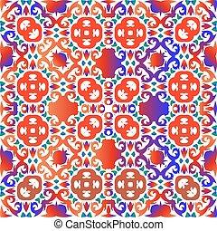 Mexican vintage talavera tiles.