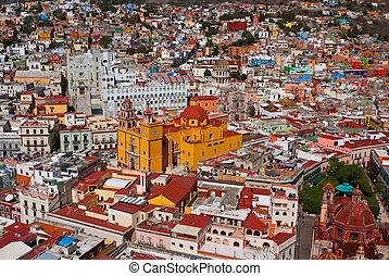 Mexican Vista Guanajuato Mexico