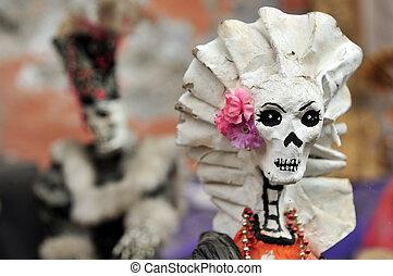 Mexican women skeleton