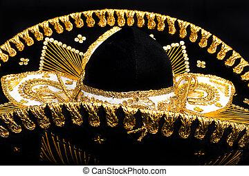 mexicano, close-up, chapéu