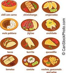 mexicano del alimento
