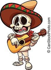 mexicano, esqueleto