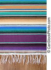 mexicano, méxico, mayo, de, tapete, ou, tradicional, cinco, fundo, serape, cobertor