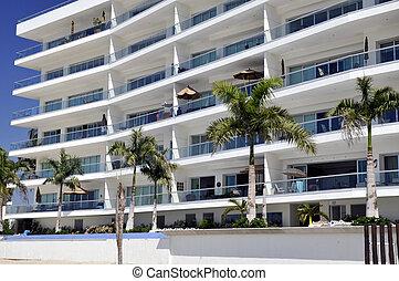 mexicano, playa, apartamentos