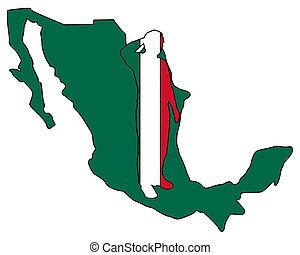 mexicano, saludo