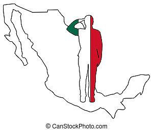 mexicano, saudação