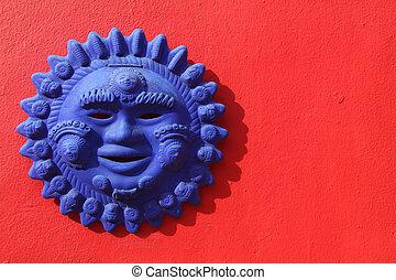 mexicano, sol, arte