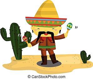 mexicano, tipo