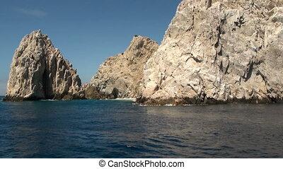Mexico - Cabo San Lucas - Rocks and beaches - El Arco de...