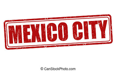 Mexico City stamp