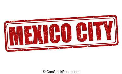 Mexico City stamp