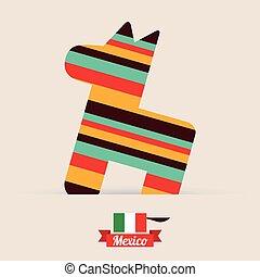 mexico design, vector illustration EPS10