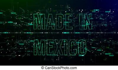 mexico', espace, texte, animation, numérique, 'made