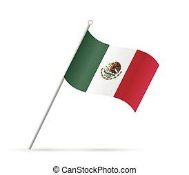 Mexico Flag Illustration