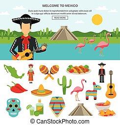 Mexico Flat Icon