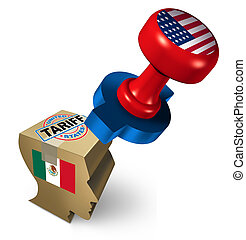 Mexico Immigration Tariff - Mexico tariffs by the United...