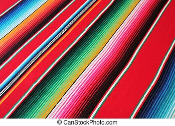 Mexico Mexican cinco de mayo rug poncho fiesta background with stripes