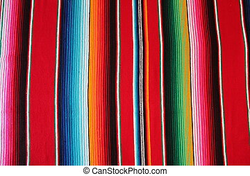 Mexico Mexican cinco de mayo rug poncho fiesta background with stripes