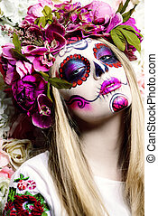 mexico national holiday - Dia de los muertos. Day of The...