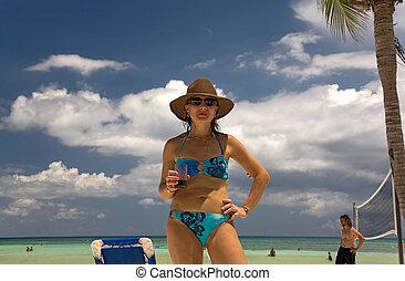 mexico on beach toma