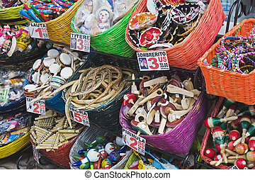 Mexico - Local crafts and souvenirs in Cancun Mexico