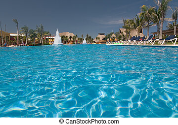 mexico pool view from water - mexico pool view from the ...