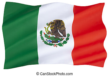 mexico vlag, nationale
